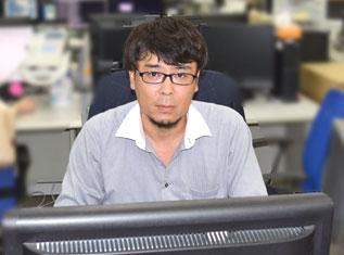 社員インタビュー 松下トップ